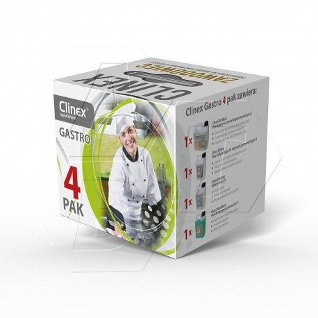 Clinex - Zestaw Gastro 4-Pak