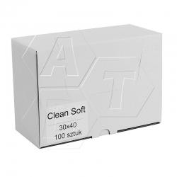 Ściereczki włókninowe CLEAN SOFT 100 szt.