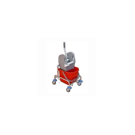 TTS Wózek 15 l. z wyciskarką ocynk