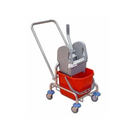 TTS Wózek 15 l. z wyciskarką ocynk/r