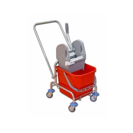 TTS Wózek 25 l. z wyciskarką ocynk/r